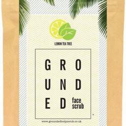 Grounded Lemon Tea Tree Face Scrub 60g