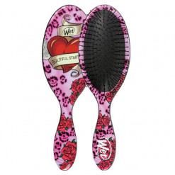 Wet Brush Pro Detangle Brush Inked -Pink Heart