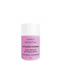 Simply Essential Nail Polish Remover Extra Gentle 60ml - Acetone Free