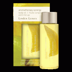 Linden Leaves pick me up body oil travel size