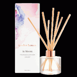 Linden Leaves pink petal fragrance diffuser