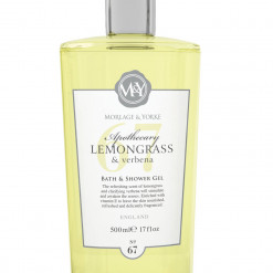 MORLAGE & YORKE APOTHECARY LEMONGRASS & VERBENA BATH AND SHOWER GEL