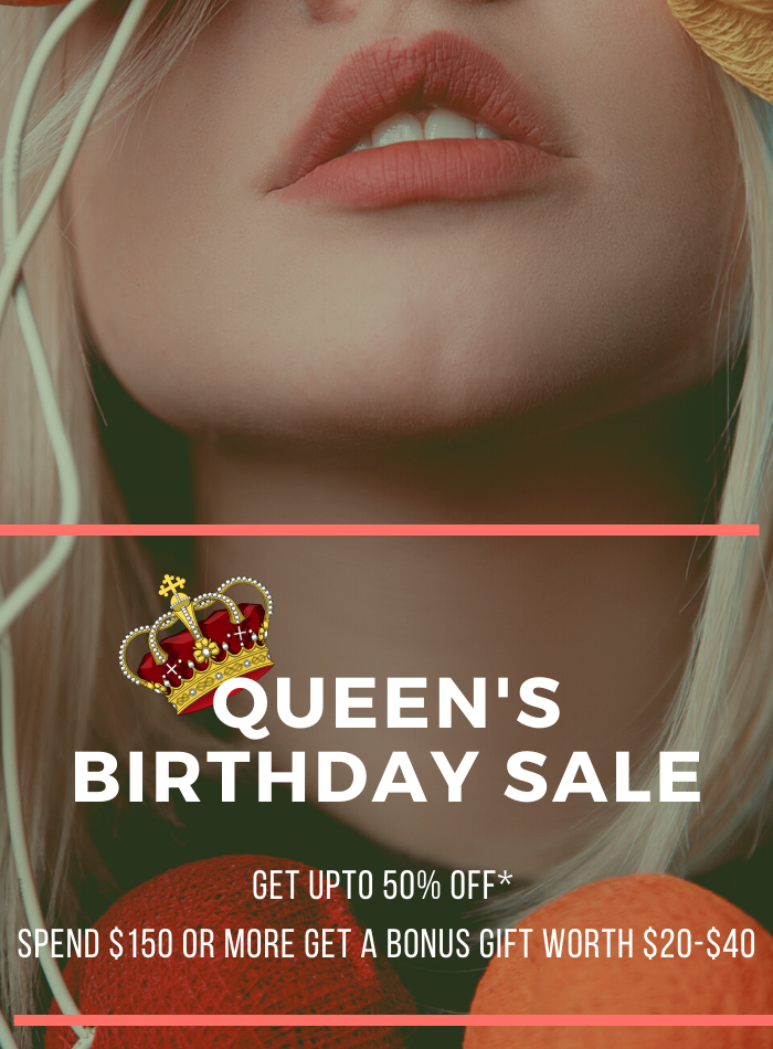 Queen Birthday sale